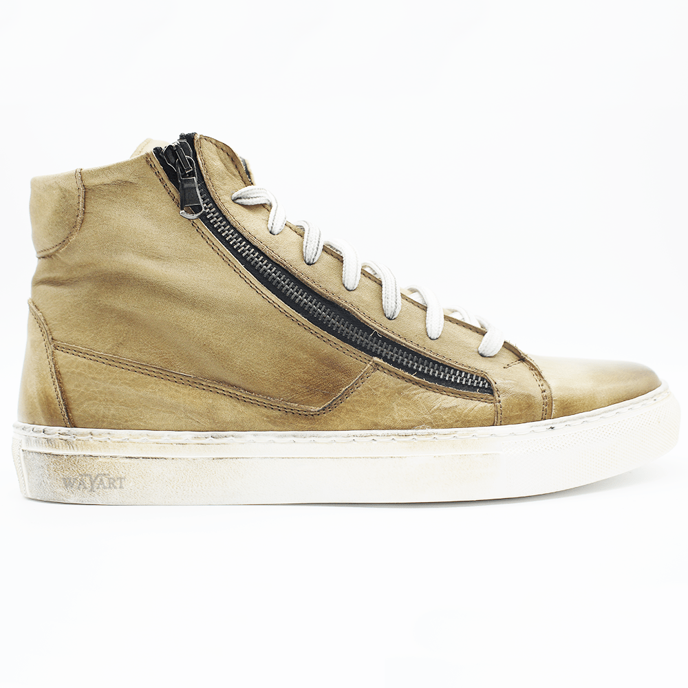 RAF80171 Regimental washed sneaker+ double zip - WAYART
