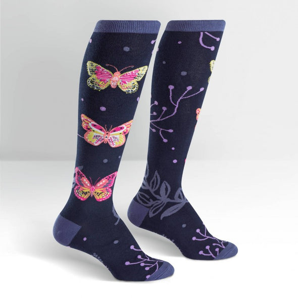 Sock It To Me Knee Socks Madame Butterfly
