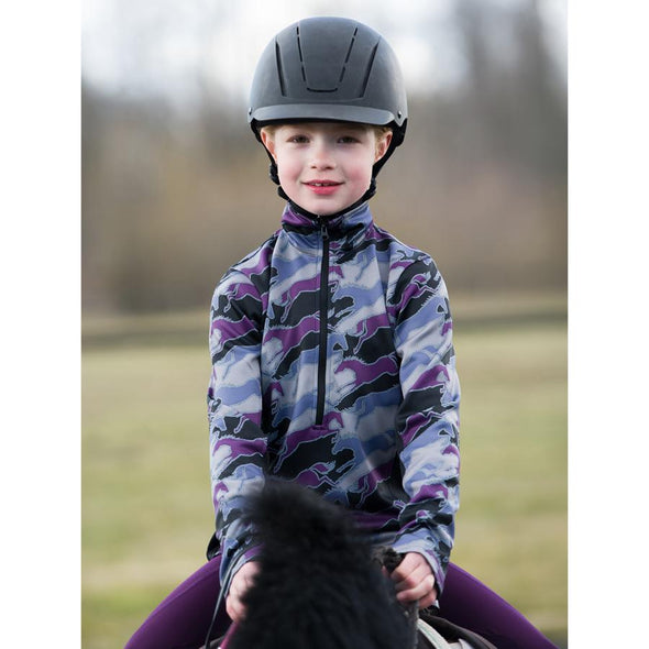 Kerrits Kids Counter Canter Fleece Half Zip