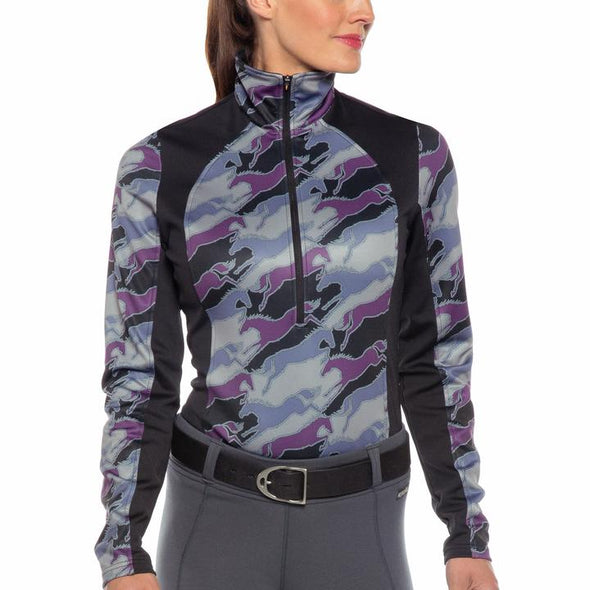 Kerrits Counter Canter Fleece Half Zip