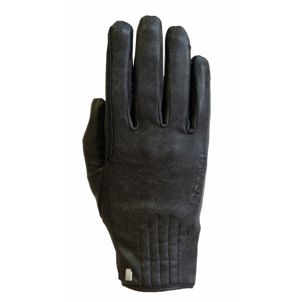 Roeckel Wels Winter Glove Black and Stone