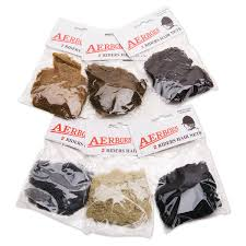 Aerborn Double Thick Hairnet Pkg 2 Light Brown