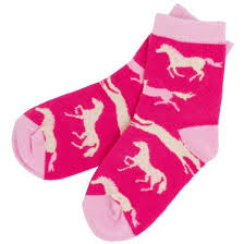 Hatley Kids Hearts & Horses Socks