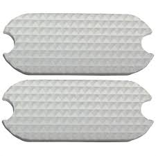 Stirrup Pad Replacement White  4 3/4''