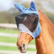 Shires Deluxe Fly Mask With Ears