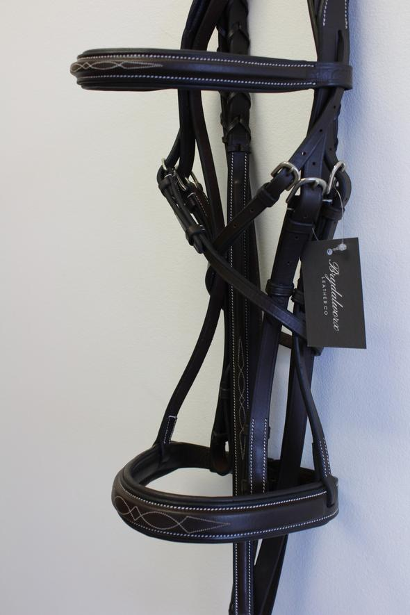 Brydalworx Padded Hunter Bridle