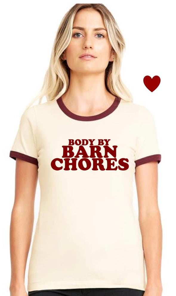 Phyllis Stein Body By Barn Chores Tee