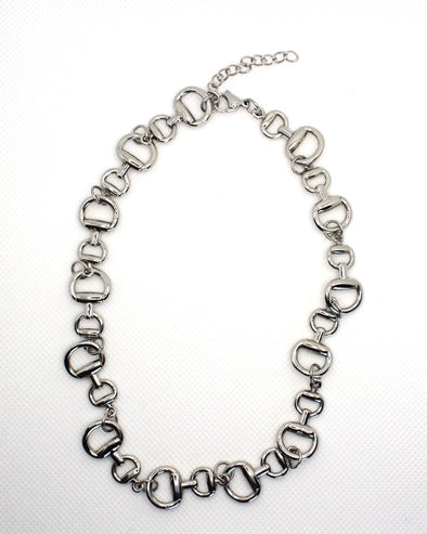 Willow Equestrian Snaffle Bit Link Necklace