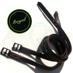 Royal Fancy Triple Covered Stirrup Leather Oak 54''