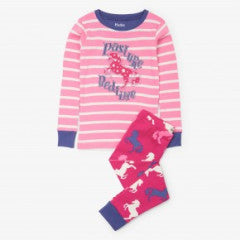 Hatley Girls Playful Horses PJ Set Applique