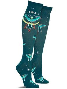 Sock It To Me Knee High Socks Mystic Moth