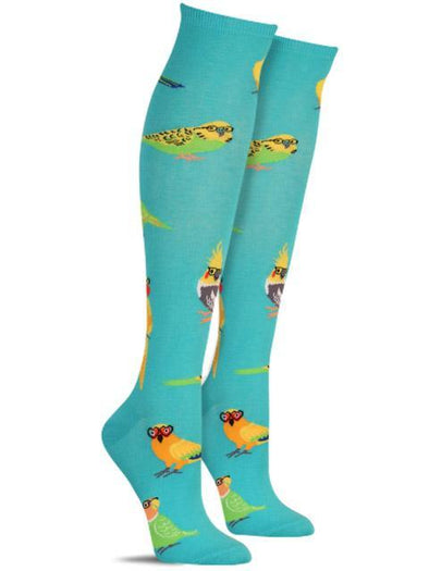 Sock It To Me Knee High Socks Pretty Birds
