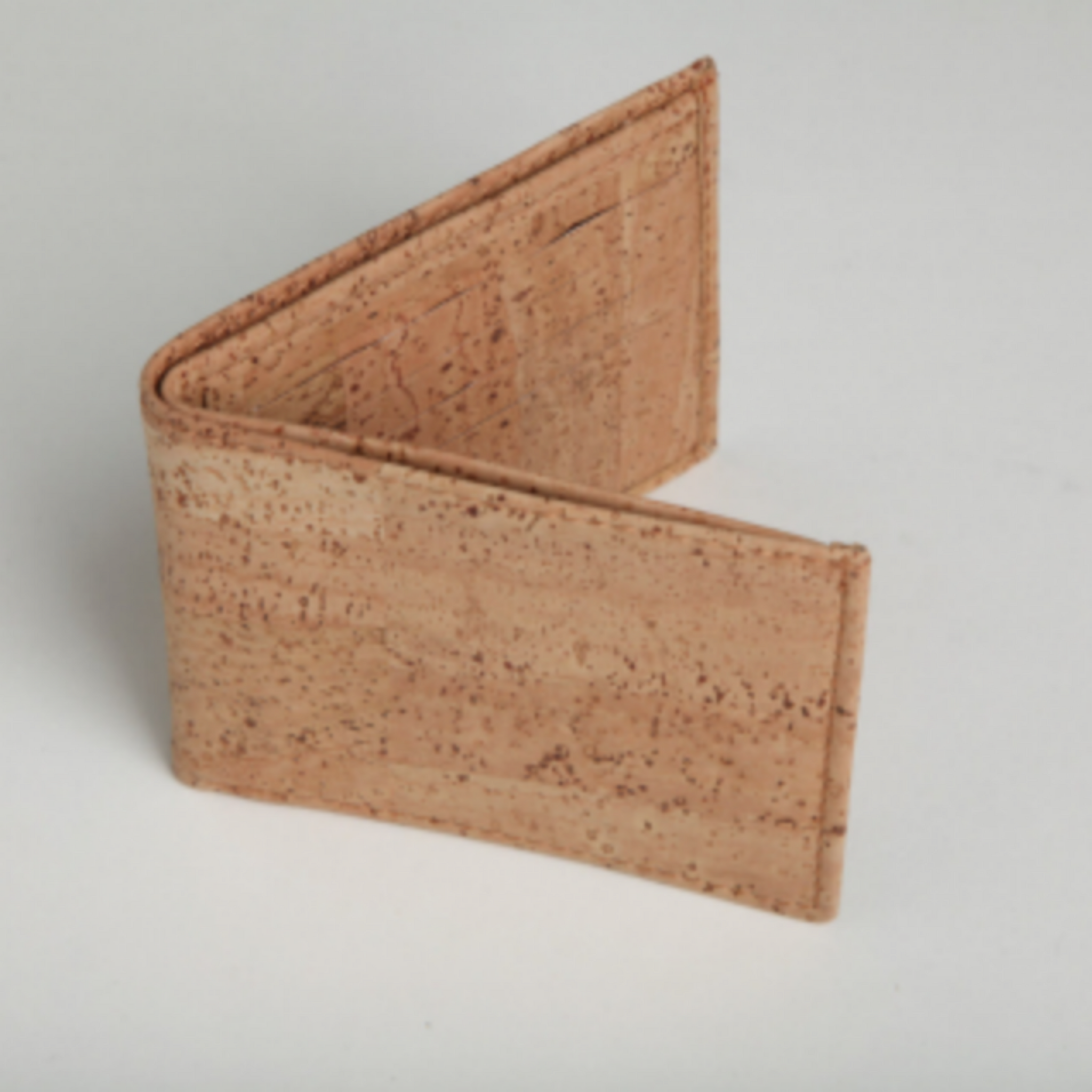 Men's Wallet - thistle + cork