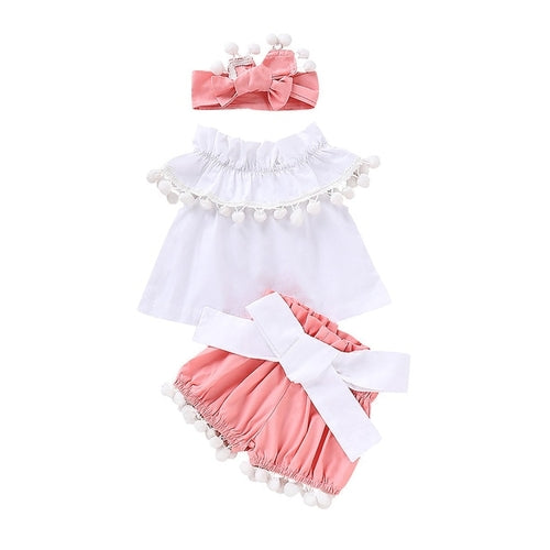 Kawaii Bathing 3pcs Sets For baby clothes Infant
