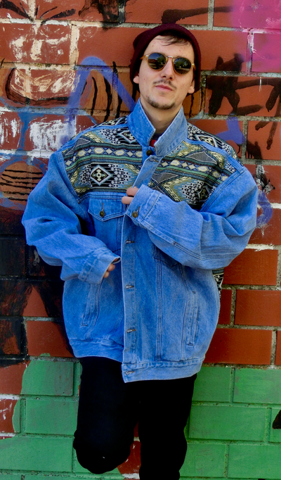 Upcycling Denim Jacke #1