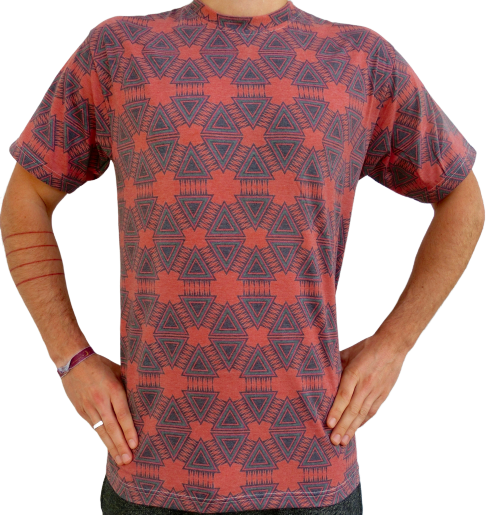 """geometry"" rost T-Shirt unisex"