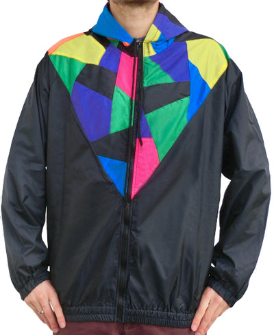 """Patchwork Color"" Windbreaker Jacke unisex"