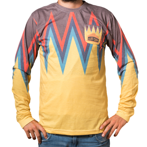 """the Himalayas"" yellow longsleeve unisex"