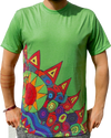 """tripping"" green T-Shirt unisex"