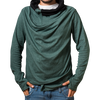 """extraordinary"" green sweater unisex / unisize"