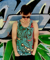 """Jungle"" Tanktop unisex"