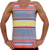 """striped"" tank top unisex"