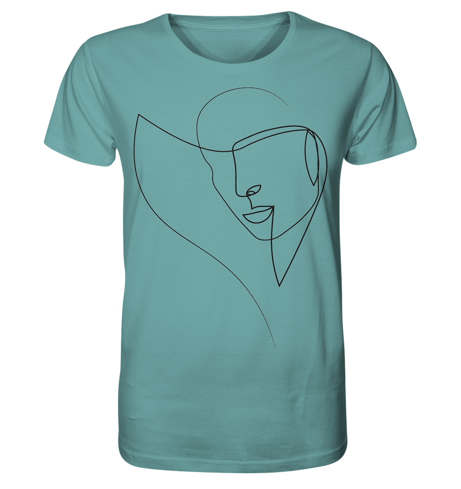"""female self portrait"" T-Shirt unisex - Organic Shirt"