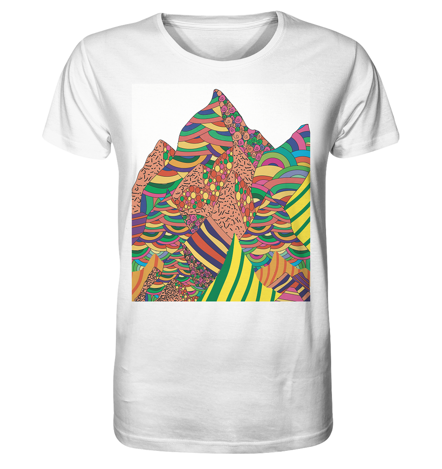 """mountain view"" T-shirt unisex - Organic Shirt"