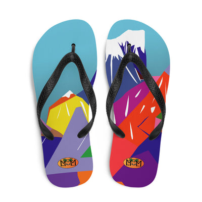 """mountaineer"" Flip-Flops"