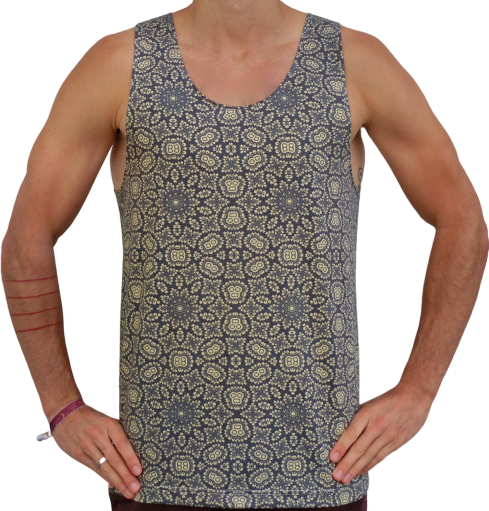 """ornaments"" tank top unisex"