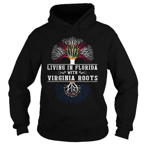 012 living In Florida With Virginia Roots T-shirts Sweatshirts 38 95