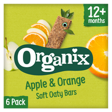 Load image into Gallery viewer, Apple & Orange Soft Oaty Bars