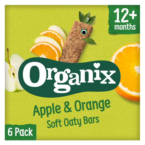 Apple & Orange Soft Oaty Bars