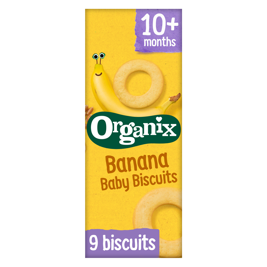 Banana Baby Biscuits