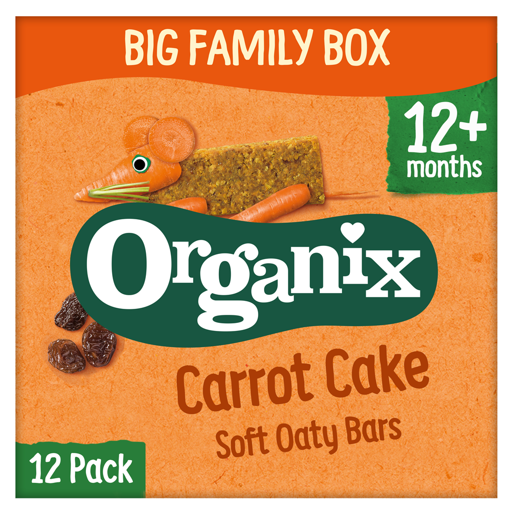 Carrot Oaty Bar Big Family Box