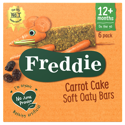 Personalised Carrot Cake Soft Oaty Bars