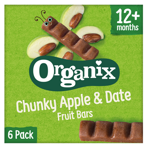 Apple & Date Chunky Fruit Bars (6 pack)