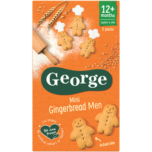 Personalised Mini Gingerbread Men Biscuits