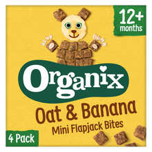 Load image into Gallery viewer, Oat & Banana Mini Flapjack Bites