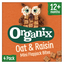 Load image into Gallery viewer, Oat & Raisin Mini Flapjack Bites