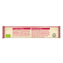 Load image into Gallery viewer, Raspberry & Apple Soft Oaty Bars (single) - Short Shelf Life