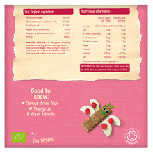 Load image into Gallery viewer, Raspberry & Apple Soft Oaty Bars (6 pack)