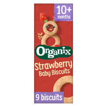Load image into Gallery viewer, Strawberry Baby Biscuits