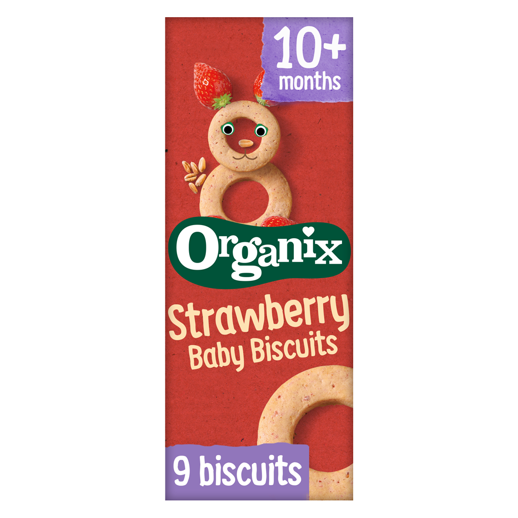 Strawberry Baby Biscuits
