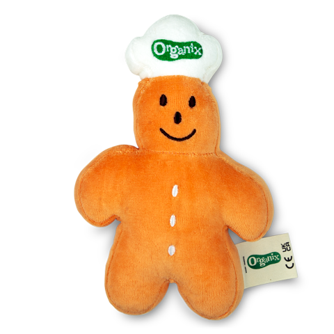 Organix Gingerbread Man Soft Toy