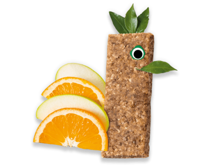 Apple & Orange Soft Oaty Bars Organimal