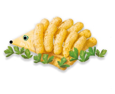 Cheese & Herb Puffs Multipack Organimal