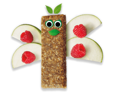 Raspberry & Apple Soft Oaty Bars (6 pack) Organimal