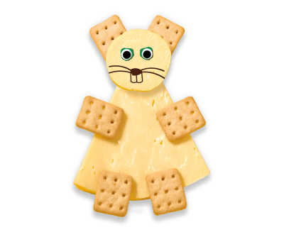 Mini Cheese Crackers (Single) Organimal