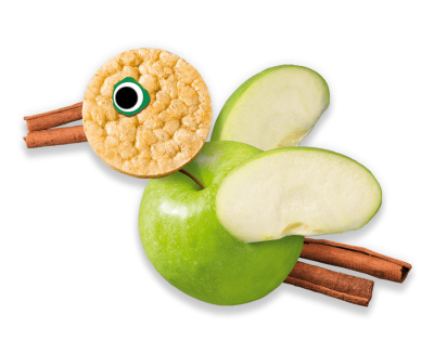 Apple Rice Cakes Organimal